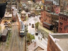 john allen model railroad | While on a roof top in South Manchester taking pictures of the local ...