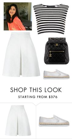 """Untitled #2870"" by outfitstowear ❤ liked on Polyvore featuring Dolce&Gabbana, Jimmy Choo, Topshop and Chanel"