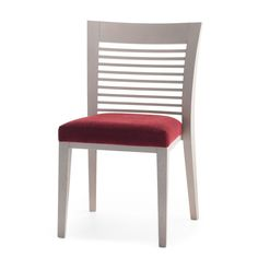 The great success of this chair is based on the diversity of its range. Chair, armchair (both stackable) and barstools are offered in three different back styles. The structure is in beech wood; finishes are standard or custom-made. http://www.sandlerseating.com/chairs/azure-1.1-P211.html