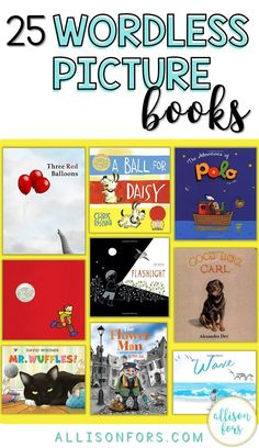 Wordless picture books are a versatile tool with tons of language opportunities! Apply these ideas on how to use them in speech therapy, classroom, or at home.