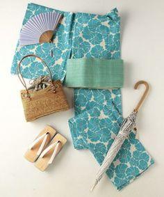 <Kaguwa(かぐわ)>  浴衣 ねじり梅 Traditional Kimono, Traditional Outfits, Japanese Fabric, Japanese Kimono, Yukata Kimono, Kimono Design, Wedding Kimono, Summer Kimono, Japanese Outfits