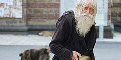 Old Man Begs For Little Children