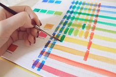 Watercolors, just like any other type of paint, are defined by their own set of properties. In the next few blog posts we will explore some of these properties and do some simple exercises to get to know our colors and how they react to each other. Today we begin with transparency.