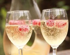 Mocktail Non-Alcoholic Champagne