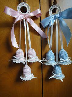 Baby Shawer, Crochet Basket Pattern, Crochet Baby, Dolls, Christmas Ornaments, Holiday Decor, How To Make, Handmade, Baby Layette