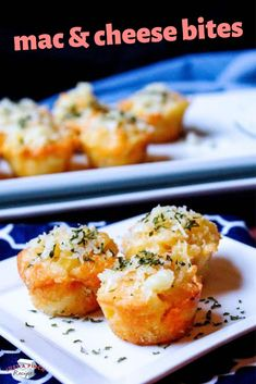 Recipes for Kids! Easy Macaroni and Cheese Bites Appetizer is a recipe kids of all ages will LOVE! Appetizers For Kids, Cheese Appetizers, Appetizer Recipes, Wedding Appetizers, Cheese Recipes, Yummy Recipes, Snack Recipes, Healthy Toddler Meals, Kids Meals