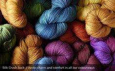 Sweet Georgia Yarns | Silk Crush Sock