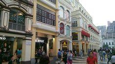 Centro histórico de Macau.