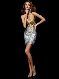 Sheath/Column Sweetheart Sleeveless Beading Short/Mini Lace Cocktail Dresses