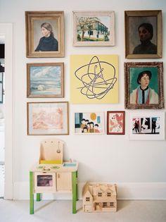 Decoración de una habitación infantil. Decorar las paredes de una habitación infantil