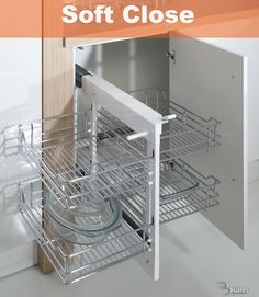 blind corner pull out baskets - Google Search
