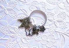 Butterfly Keychain, Butterfly Charm, Butterfly Purse Charm, Charm Keychain by EyeCandiByCandi on Etsy