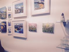 My artwork up at 'gallery' Stepney st Llanelli