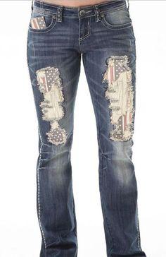 Cowgirl Tuff American Pride Jeans