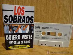 LOS SOBRAOS. QUIERO VERTE. MC / KONGA MUSIC - 1995. CALIDAD LUJO.