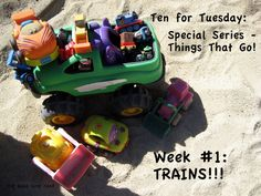 The Good Long Road: Ten for Tuesday: Things That Go Series - Week #1 - TRAINS!!!! from @Jenni Fischer-The Good Long Road