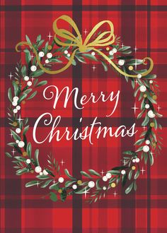 Merry Christmas Card, Christmas Cards To Make, Christmas Mood, Noel Christmas, Xmas Cards, Christmas Wreaths, Christmas Crafts, Christmas Decorations, Christmas Wishes