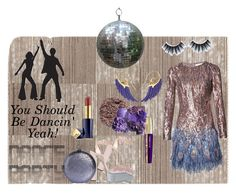 """Death Before Disco 💃"" by klm62 ❤ liked on Polyvore featuring Matthew Williamson, Giuseppe Zanotti, Halston Heritage, Noor Fares, Estée Lauder, Illamasqua, Huda Beauty and L'Oréal Paris"
