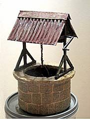 Well page5 tutorial - Miniature Wishing Well