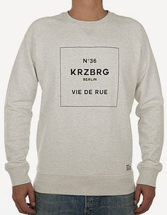 Depot2 Berlin - No 36 Kreuzberg Sweater Organic creme heather, grey