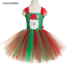 3705ec8cd Santa Claus Baby Girl Clothes Christmas Costume One Piece Lace Tutu Kids  Dresses For Girls Christmas Outfits Children Clothing-in Dresses from  Mother & Kids ...