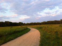 Trail portion in Libertyville, Des Plaines River Trail