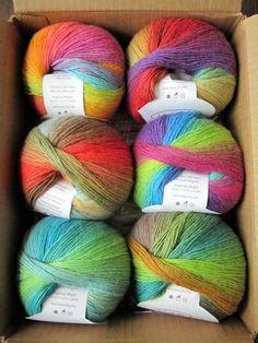 2. a favorite summer yarn - knitpicks chroma in lollipop.