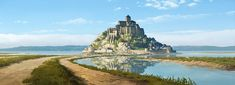 ArtStation - Cherbourg and Europe Travel Backgrounds, Manuel Vormwald