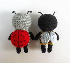 Little amigurumi bugs - free crochet pattern