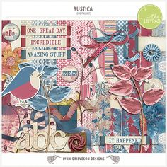 Rustica kit by Lynn Grieveson.  Available at the LilyPad.