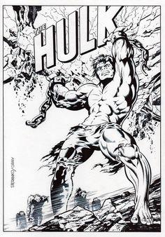 Jim Steranko & Mick Gray - Hulk #2 Recreation Marvelmania / FOOM Comic Art