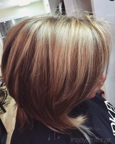 Golden fall blonde. Highlights and lowlights.