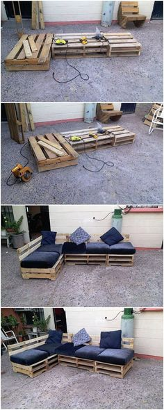 If you are thinking about planning to design the couch piece of design for your house use then the best material to opt for its designing is the wood pallet manufacturing. It would be durable for the bench manufacturing and by the end it would look impressive much too.
