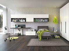 Composizione T08 con letto Clio | Gruppo Tomasella