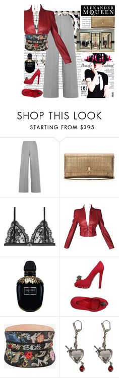 """""""Alexander McQueen#1"""" by confusgrk ❤ liked on Polyvore featuring Alexander McQueen, contestentry and AmiciMei"""