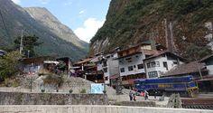 Zug in Aguas Calientes bei Machu Picchu