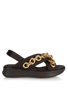 Burberry Prorsum Actonshire chain-embellished sandals