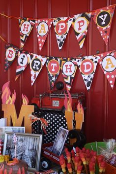 Firetruck/ Fireman Party by Miss Party Mom
