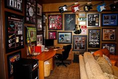The Official Man Cave Site - Rock n Roll Man Cave