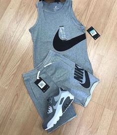 ideas for fitness gear life Swag Outfits Men, Tomboy Outfits, Tomboy Fashion, Dope Outfits, Casual Outfits, Mens Fashion, Fashion Outfits, Nike Outfits For Men, Hype Clothing