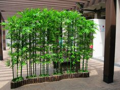 Marvelous 15 Awesome Bamboo Garden Design To Beautify Home Yard Want to redesign the garden in your home, you can apply a bamboo garden design to decorate your home landscape. With this bamboo garden, you will auto. Bamboo Landscape, Landscape Design, Inexpensive Landscaping, Backyard Landscaping, Garden Stones, Garden Paths, Bambu Garden, Bamboo Garden Ideas, Bamboo Planter