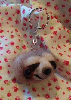Hey, I found this really awesome Etsy listing at https://www.etsy.com/uk/listing/270068357/cute-tree-sloth-key-ring-handbag-charm