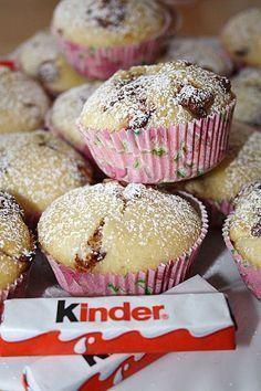 Kinderschokolade - Muffins, ein beliebtes Rezept aus der Kategorie Kuchen. Bewertungen: 218. Durchschnitt: Ø 4,6.