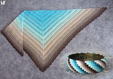 Další krásný háčkovaný šátek a polymerový náramek od Věrky Šulcové. Blanket, Crochet, Breien, Ganchillo, Blankets, Cover, Crocheting, Comforters, Knits