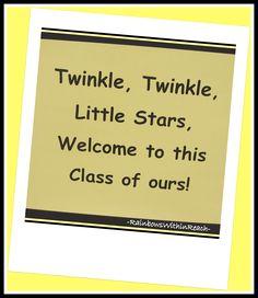 Back-to-School Bulletin Board: Twinkle, Twinkle Little Star