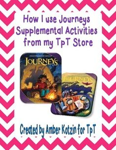 FREE Guide to Using Journeys Reading Supplements for Third Grade