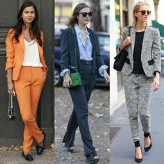Colorful suits made a huge impact on Paris Fashion Week!