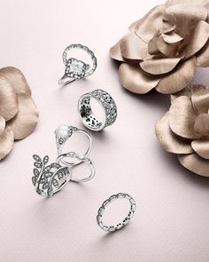 From sparkling statement styles to vintage-inspired treasures and sleek stacking bands - PANDORA's Autumn collection 2015 has it all. #PANDORAring