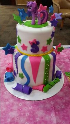 Rainbow Dash My Little Pony Cake Cakes and Cupcakes for Kids