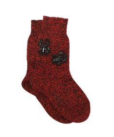 No. 21 cotton jersey embellished socks, $267 luisaviaroma.com - Photo: Courtesy of luisaviaroma.com
